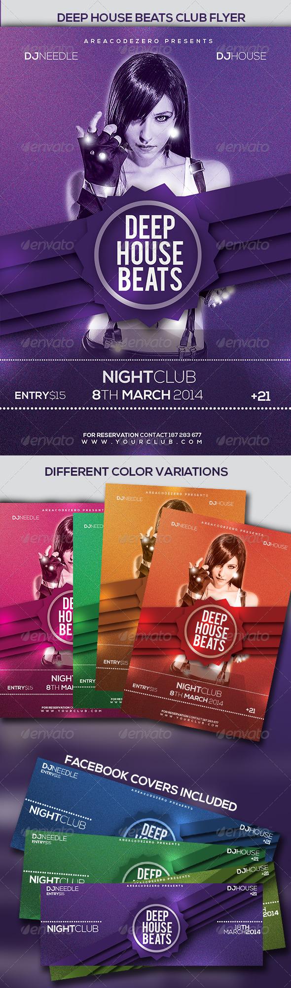 Deep House Beats - Clubs & Parties Events
