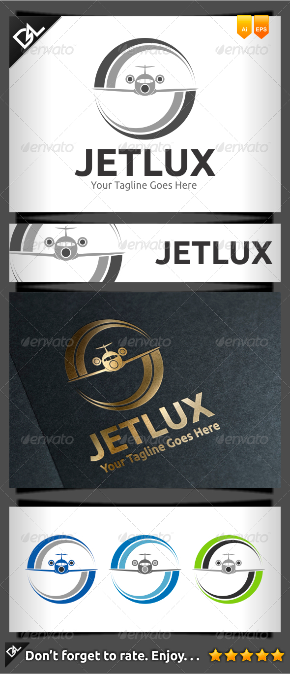 Jetlux - Objects Logo Templates