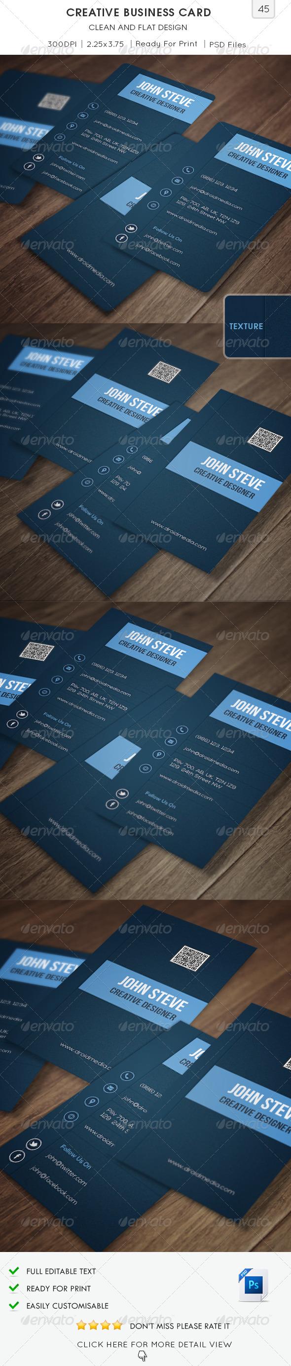 Creative Business Card v45 - Creative Business Cards