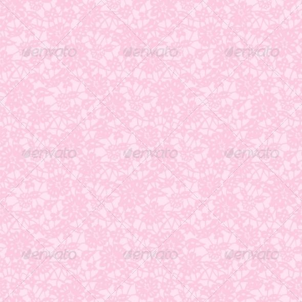 Pink Lace - Backgrounds Decorative