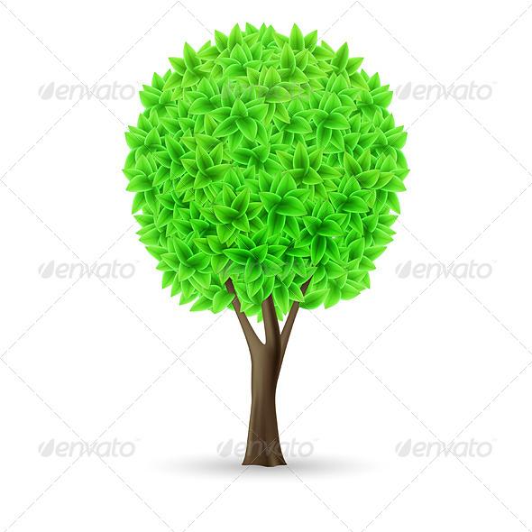 Green tree - Miscellaneous Vectors