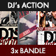 DJ's Action Bandle - GraphicRiver Item for Sale