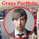 Crazy Portfolio Muse Template - ThemeForest Item for Sale