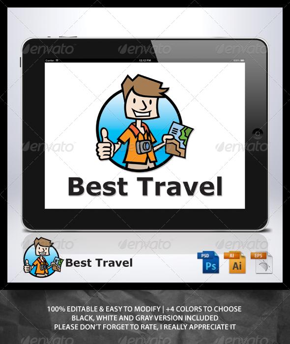 Best Travel - Humans Logo Templates