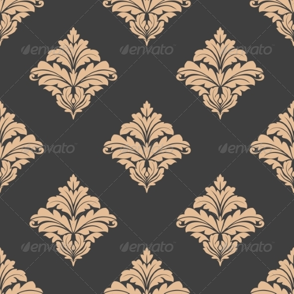 Floral Damask Pattern - Patterns Decorative