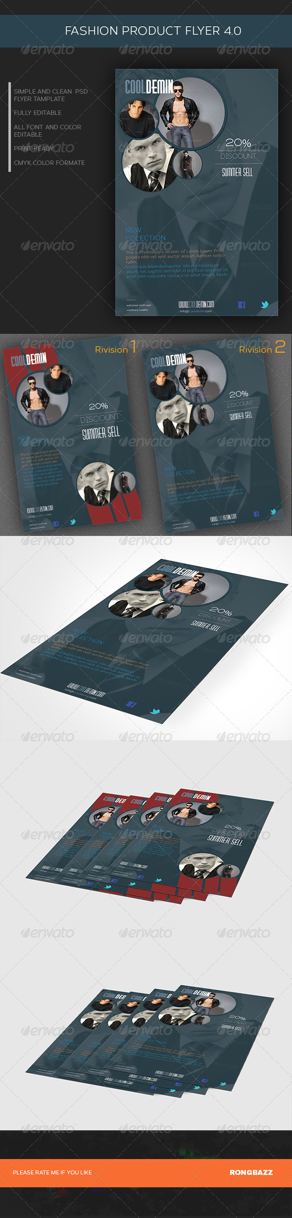 Fashion Product Flyer 4.0  - Commerce Flyers