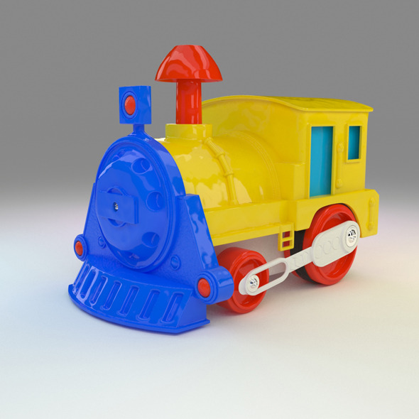 Toy Train / Oyuncak Tren - 3DOcean Item for Sale