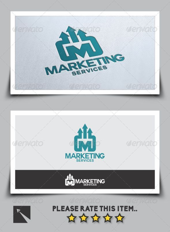 Marketing Services Logo Template  - Letters Logo Templates