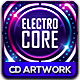 Electro Core CD Album Artwork - GraphicRiver Item for Sale