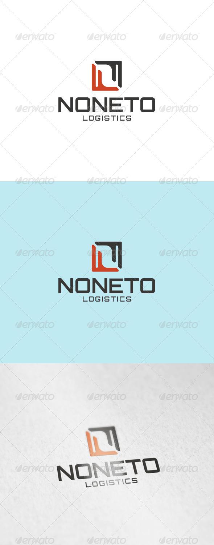 Noneto Logo - Letters Logo Templates