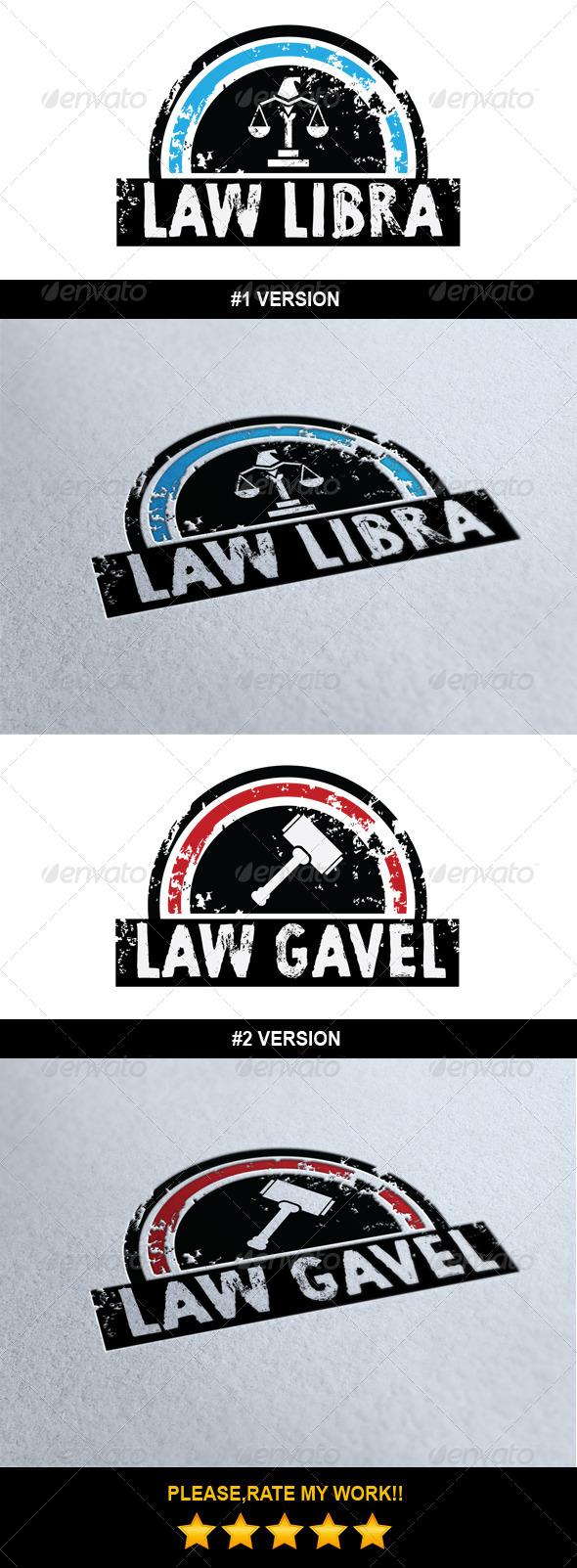 Law Logo Template - Symbols Logo Templates