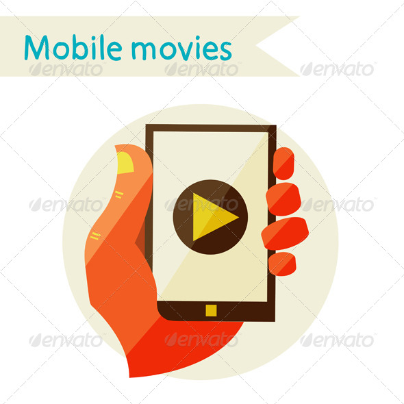 Creative Concept With Video Player - Web Technology