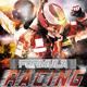 Racing Race Car Grand Prix Flyer Design - GraphicRiver Item for Sale