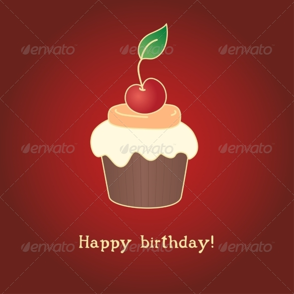 Birthday Card - Patterns Decorative
