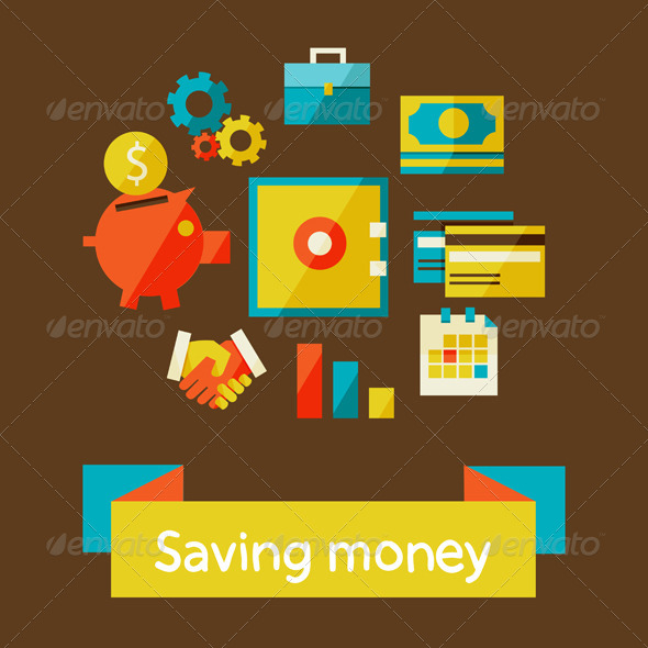 Piggy Bank - Saving Money - Concepts Business