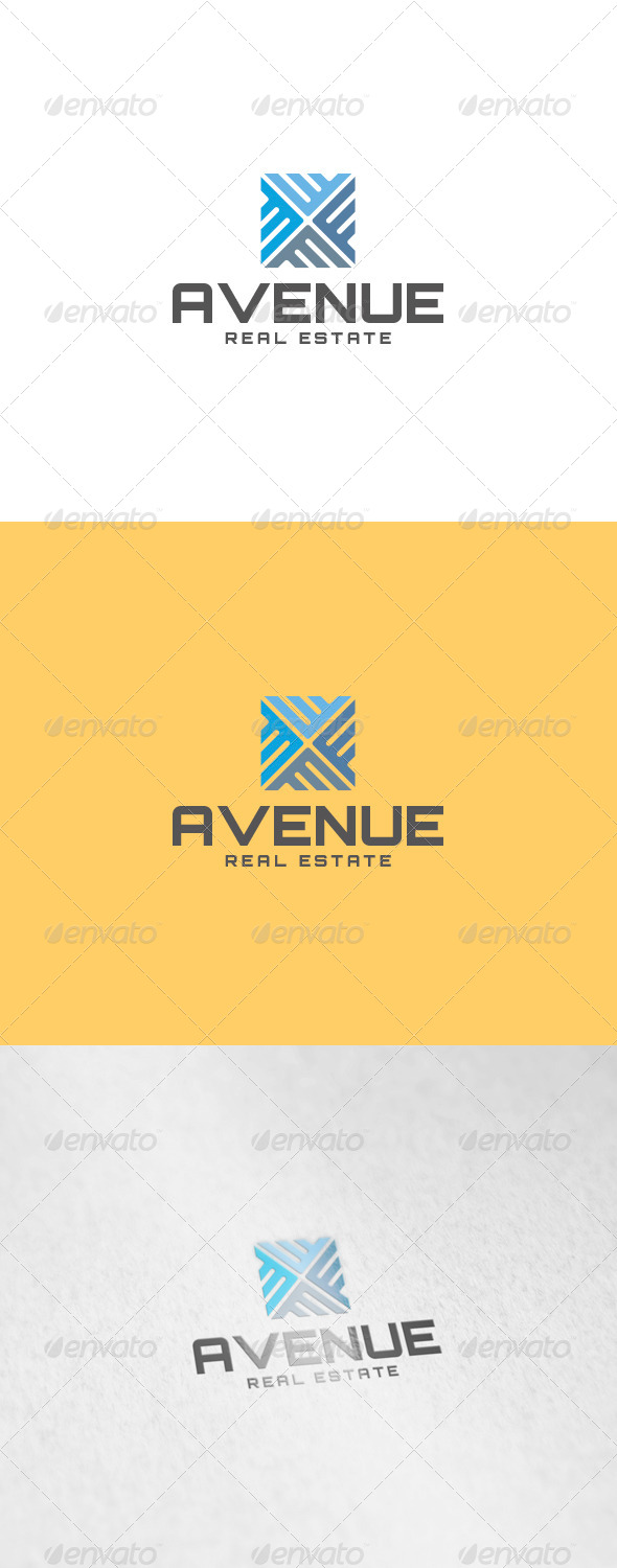 Avenue Logo - Abstract Logo Templates