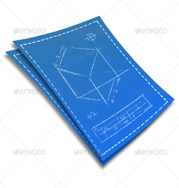 Blueprint - Objects Illustrations