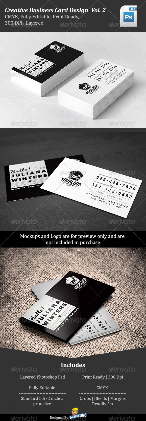 Creative Business Card Design Vol.2 - Creative Business Cards
