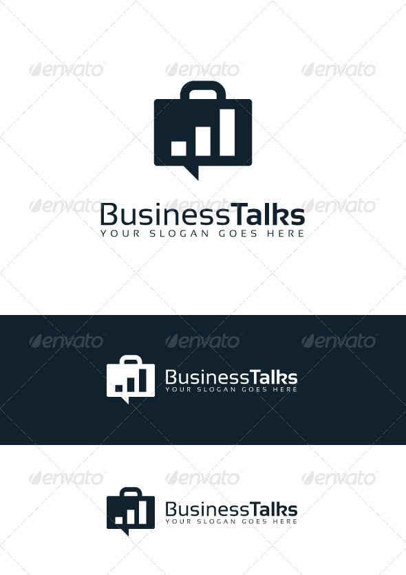 Business Talks Logo - Logo Templates