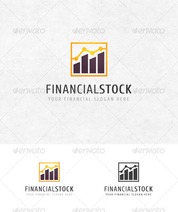 Financial Stock Logo - Logo Templates