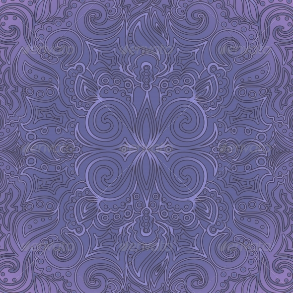Background with Ornate Pattern - Backgrounds Decorative