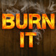 Burning Text Style Action - GraphicRiver Item for Sale