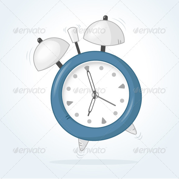 Alarm Clock - Objects Vectors