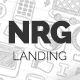 NRG - Responsive Landing Page - ThemeForest Item for Sale