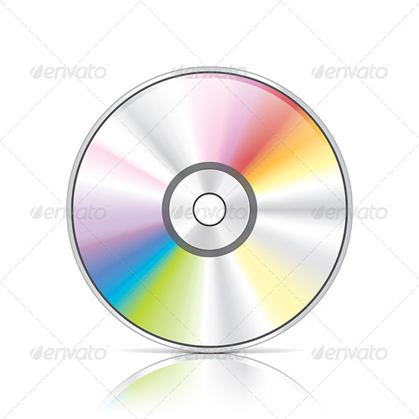 DVD or CD Disc - Media Technology