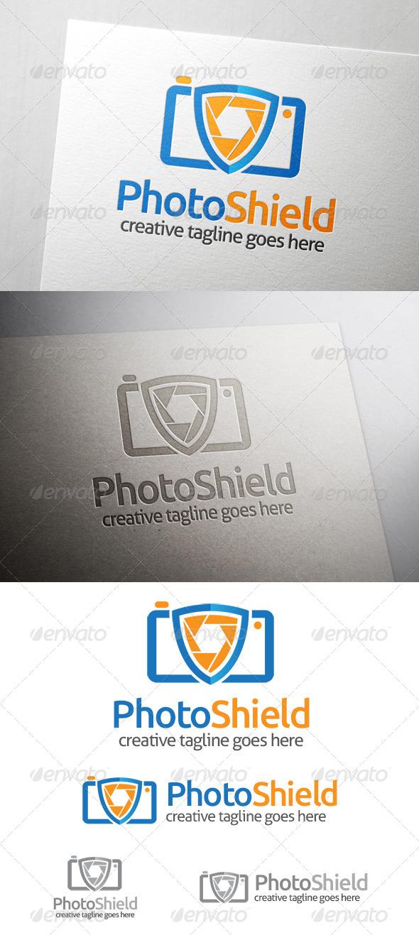Photo Shield Logo - Symbols Logo Templates