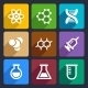 Chemical  Flat Icons Set 50 - GraphicRiver Item for Sale