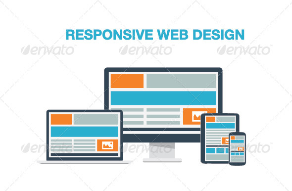 Flat Responsive Web Design - Web Technology