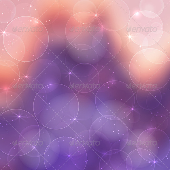 Abstract Bokeh Background - Backgrounds Decorative