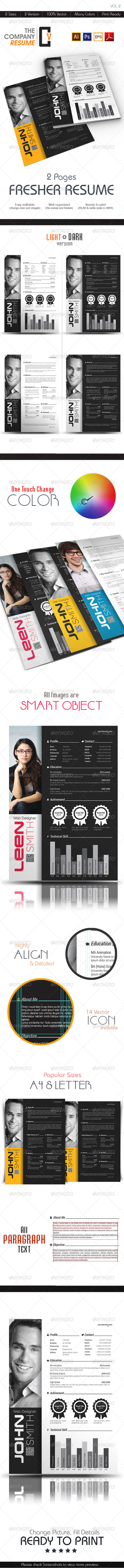The Company Fresher Resume - Resumes Stationery