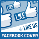 Like Us Facebook Cover Template - GraphicRiver Item for Sale