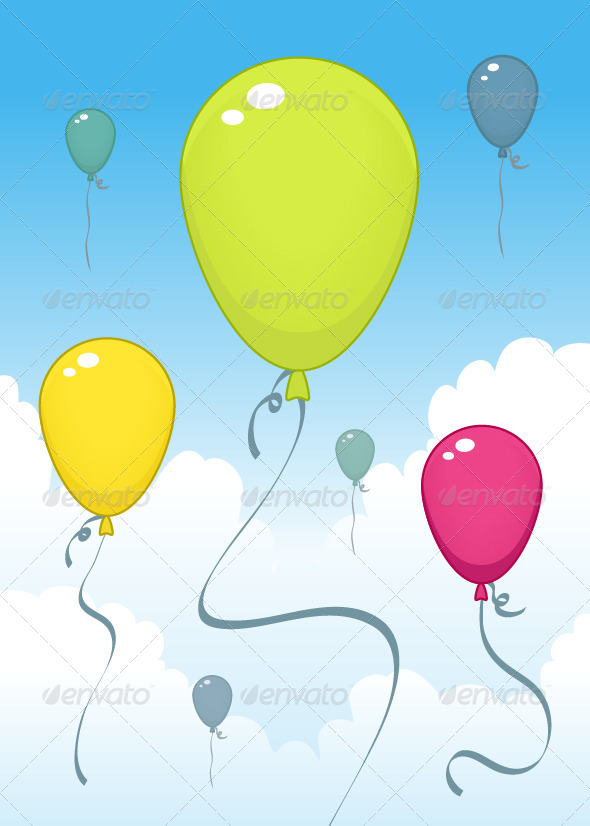Balloons - Objects Vectors
