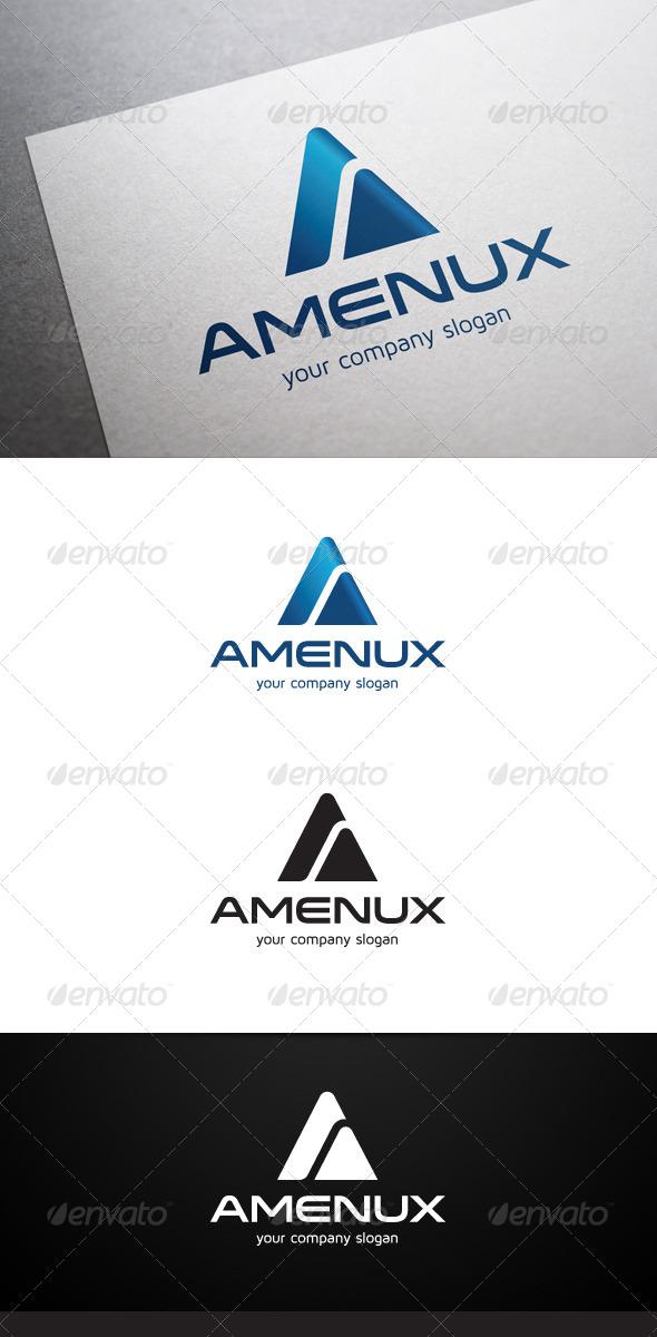 Amenux A Letter Logo - Letters Logo Templates