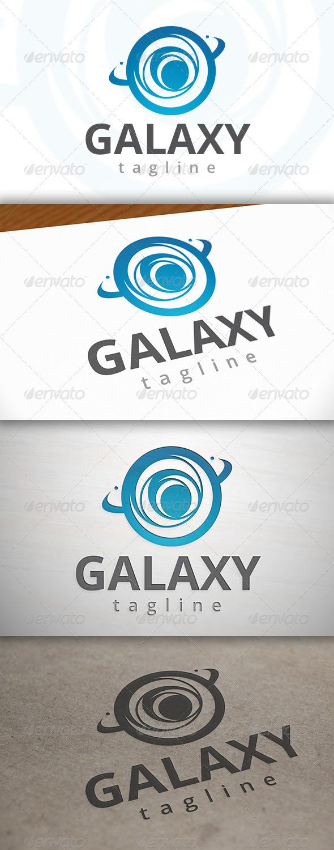 Galaxy Logo - Vector Abstract