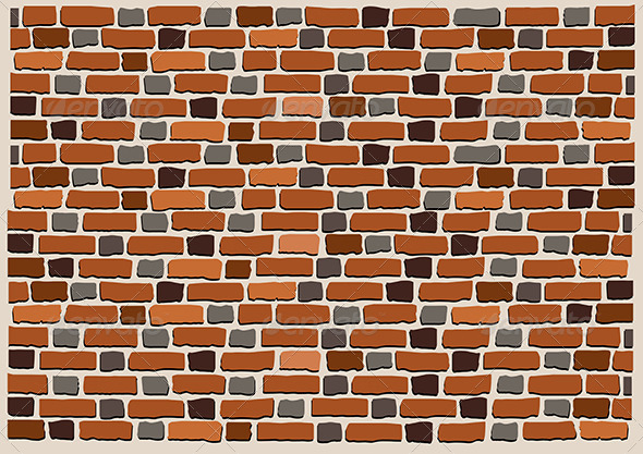 Brick Wall by ttatty | GraphicRiver