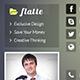 Flatte Facebook Cover - GraphicRiver Item for Sale