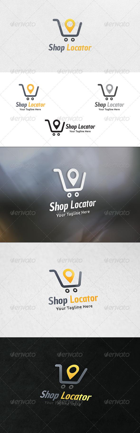 Shop Locator - Logo Template - Symbols Logo Templates