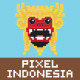 Pixel Art Indonesia - GraphicRiver Item for Sale