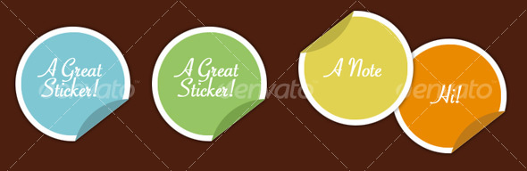 Stickers - Decorative Symbols Decorative