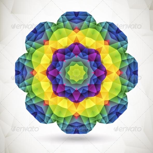 Colorful Mosaic Background  - Patterns Decorative