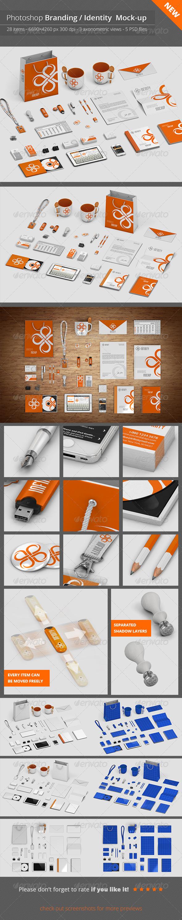Stationery / Branding Mock-Up V.1 - Stationery Print