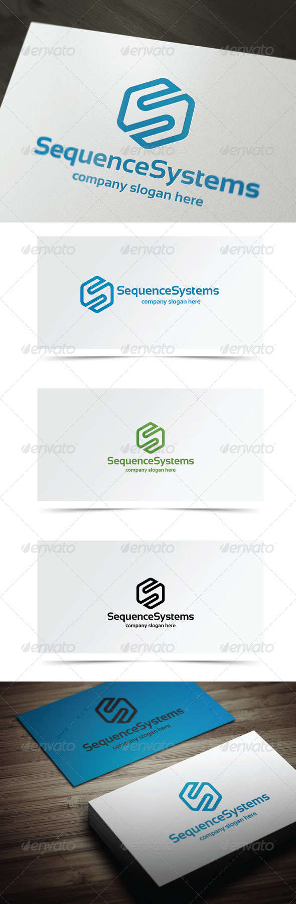 Sequence Systems - Letters Logo Templates