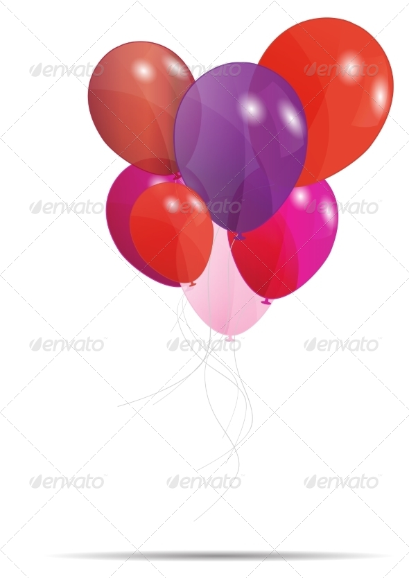 Gift Card with Balloons - Web Technology