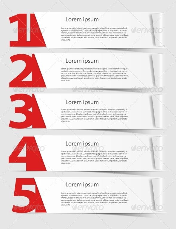 Infographics Design Elements - Web Technology