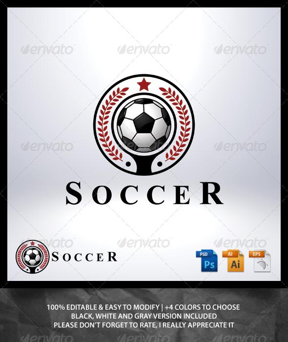 Soccer Logo - Objects Logo Templates