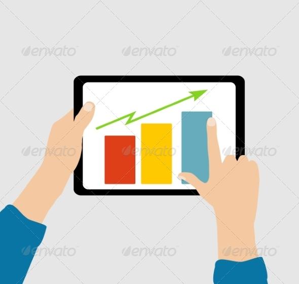 Business Flat Concept - Web Technology